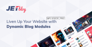 JetBlog v2.2.10 – Blogging Package for Elementor Page Builder