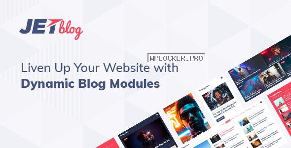 JetBlog v2.2.10 – Blogging Package for Elementor Page Builder