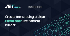 JetMenu v2.0.6 – Mega Menu for Elementor Page Builder