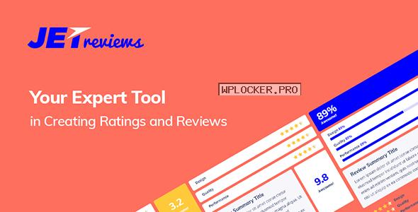 JetReviews v2.0.2 – Reviews Widget for Elementor