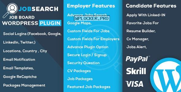 JobSearch v1.5.9 – WP Job Board WordPress Plugin