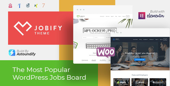 Jobify v3.16.0 – WordPress Job Board Theme