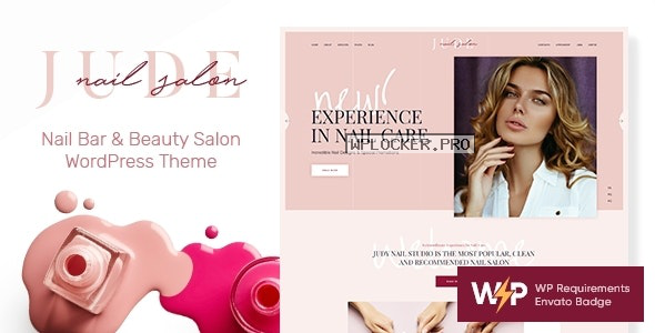 Jude v1.1.1 – Nail Bar & Beauty Salon WordPress Theme