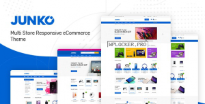 Junko v1.0.9 – Technology Theme for WooCommerce