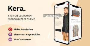 Kera v1.1.2 – Fashion Elementor WooCommerce Theme