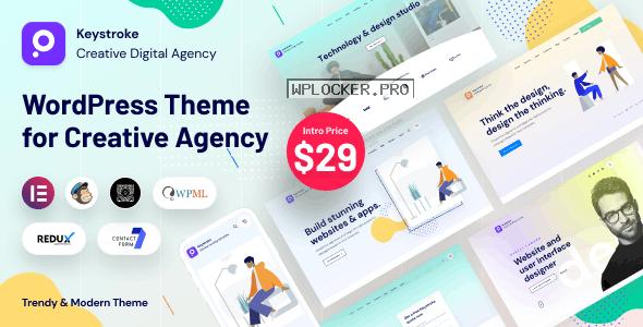 Keystroke v1.0.4 – Creative Agency, Digital Agency WordPress Theme