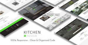 Kitchen v3.1.5 – Design Responsive WordPress Theme