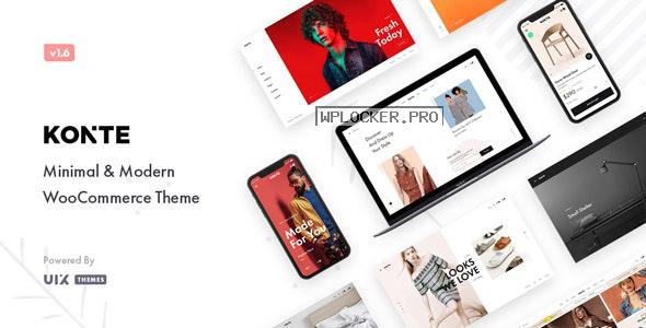 Konte v1.8.0 – Minimal & Modern WooCommerce Theme