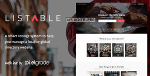 LISTABLE v1.14.0 – A Friendly Directory WordPress Theme
