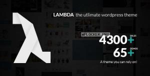 Lambda 1.59.20 – Multi Purpose Responsive Bootstrap Theme
