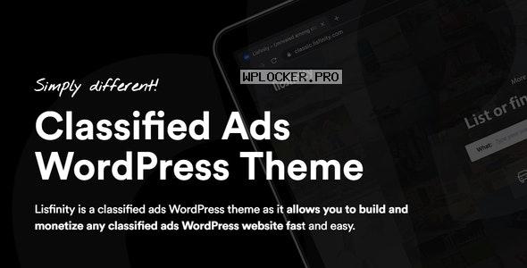 Lisfinity v1.1.11 – Classified Ads WordPress Theme