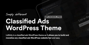 Lisfinity v1.1.9 – Classified Ads WordPress Theme