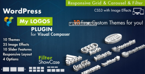 Logos Showcase for Visual Composer WordPress v2.8