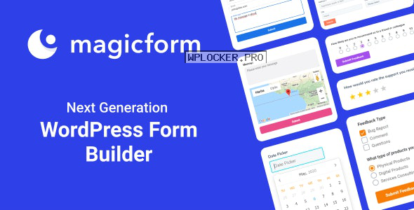 MagicForm v1.4.4 – WordPress Form Builder