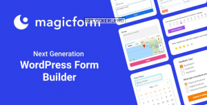 MagicForm v1.4.5 – WordPress Form Builder