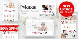 Makali v1.4.1 – Cosmetics & Beauty Theme