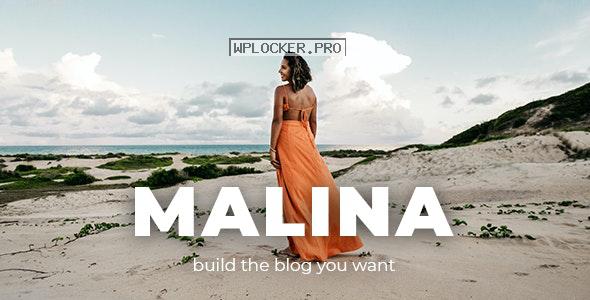 Malina v2.1.3 – Personal WordPress Blog Theme