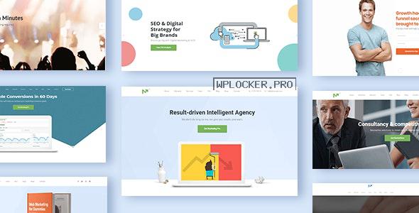 Marketing Pro v2.7 – SEO WordPress Theme for SEO, Agency