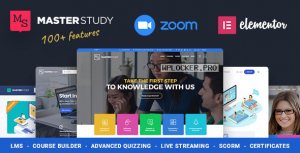 Masterstudy v4.0.2 – Education Center WordPress Theme