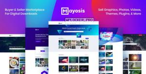 Mayosis v2.8.6 – Digital Marketplace WordPress Theme