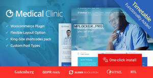 Medical Clinic v1.2.0 – Health & Doctor Medical Theme