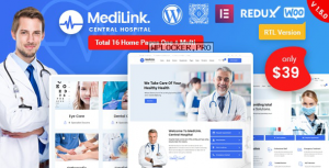 Medilink v1.5.1 – Health & Medical WordPress Theme