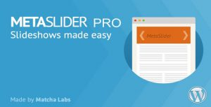 MetaSlider Pro v2.18.0 – WordPress Plugin