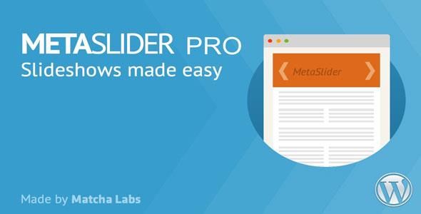 MetaSlider Pro v2.18.0 – WordPress Plugin