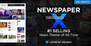 Newspaper v10.3.7 – WordPress News Theme