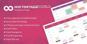 Noo Timetable v2.0.6.3 – Responsive Calendar & Auto Sync