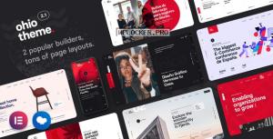 Ohio v2.1.0 – Creative Portfolio & Agency WordPress Theme