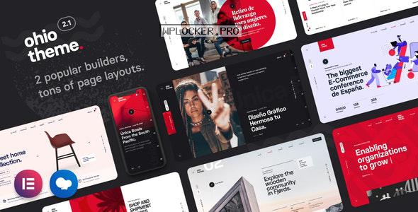 Ohio v2.1.1 – Creative Portfolio & Agency WordPress Theme