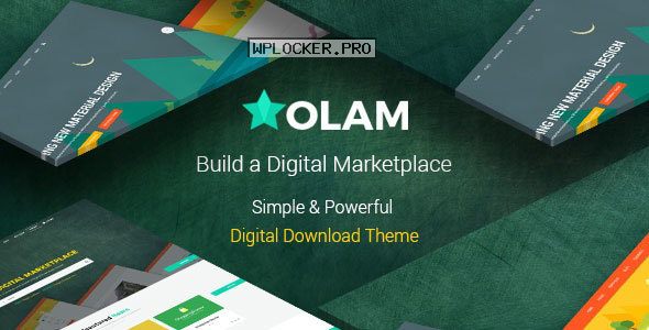 Olam v4.6.0 – WordPress Easy Digital Downloads Theme