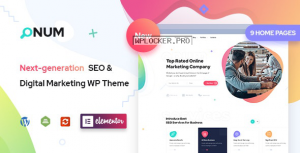Onum v1.2.0.5 – SEO & Marketing Elementor WordPress Theme