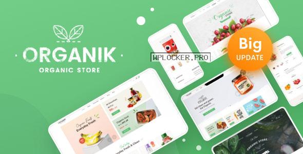 Organik v2.9.0 – An Appealing Organic Store