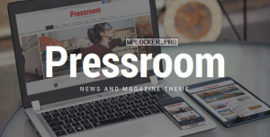 Pressroom v4.9 – News and Magazine WordPress Theme