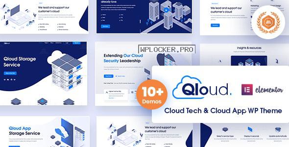 Qloud v1.6 – Cloud Computing, Apps & Server WordPress Theme