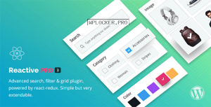 Reactive Pro v4.0.8 – Advanced Search Filter Map & Grid