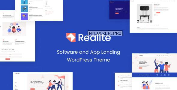 Realite v1.0.0 – A WordPress Theme for Startups