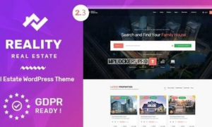 Reality v2.5.8 – Real Estate WordPress Theme