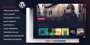 Rekord v1.4.5 – Ajaxify Music – Events – Podcasts Multipurpose WordPress Theme