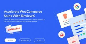 ReviewX Pro v1.1.0 – Accelerate WooCommerce Sales With ReviewX