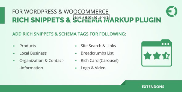Rich Snippets & Schema Markup Plugin for WordPress & WooCommerce v1.1.0