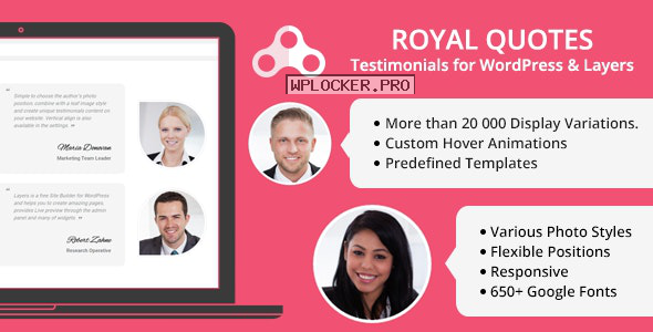 Royal Quotes v1.4.1 – WordPress Testimonials Plugin