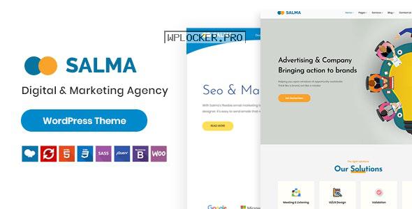 Salma v1.0.0 – SEO Marketing WordPress Theme
