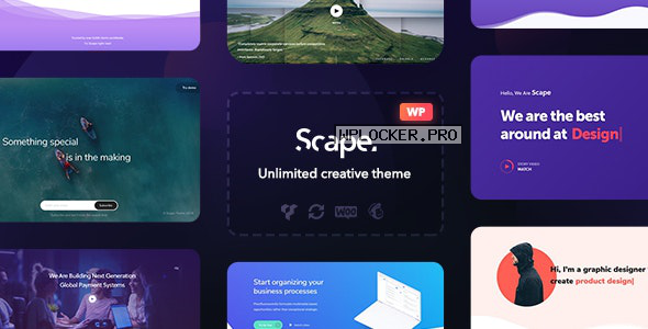 Scape v1.4.10 – Multipurpose WordPress theme