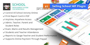 School Management System for WordPress v67.0