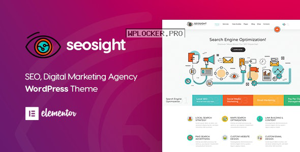 Seosight v4.9 – SEO Digital Marketing Agency Theme