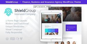 ShieldGroup v1.1.4 – An Insurance & Finance WordPress Theme