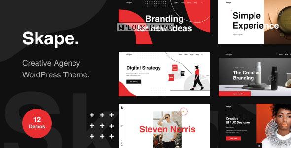 Skape v1.0.0 – Creative & Modern Agency WordPress Theme